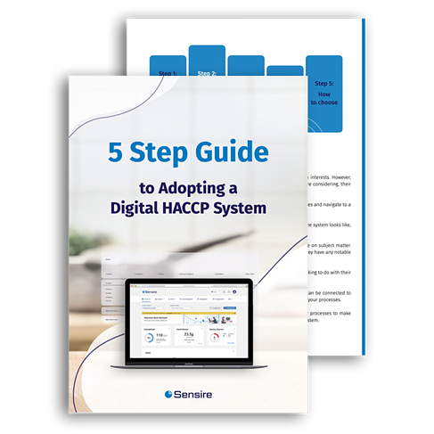 5 Stepts of Adopting a Digital HACCP System