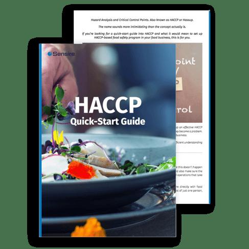 Sensire HACCP Quick-Start Guide