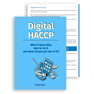 Sensire Digital haccp Guide