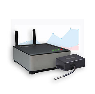 Wireless temperature monitoring solution for warehousing