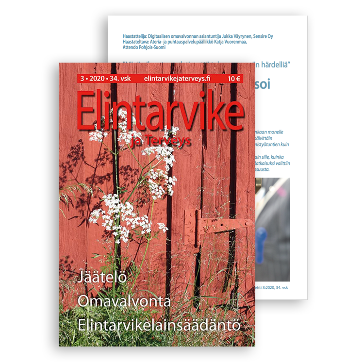 Elintarvike ja Terveys -lehti 3/2020