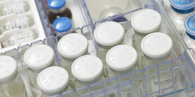 Pharmaceuticals in storage